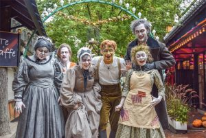 Halloween at Tivoli Gardens, Copenhagen @ Copenhagen