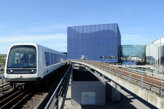 Copenhagen's metro links the airport with the city