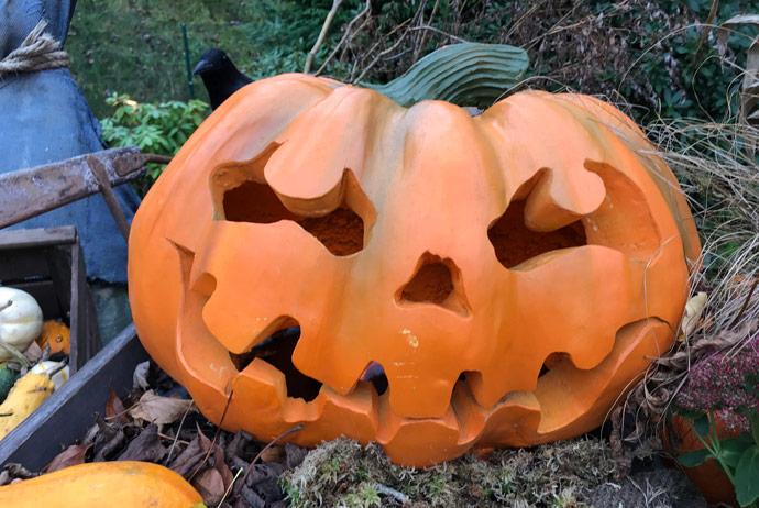 Halloween celebrations at Liseberg in Sweden
