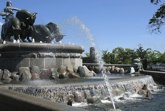 The Gefion Fountain, near The Little Mermaid, Copenhagen