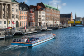 There are lots of different boat tours to try in Copenhagen
