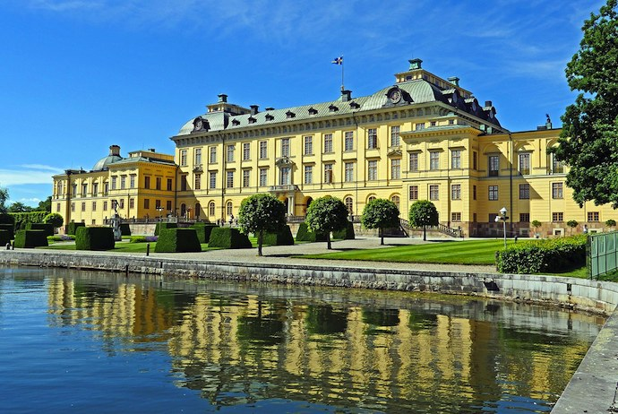 Drottningholm Palace is included in the Stockholm Pass
