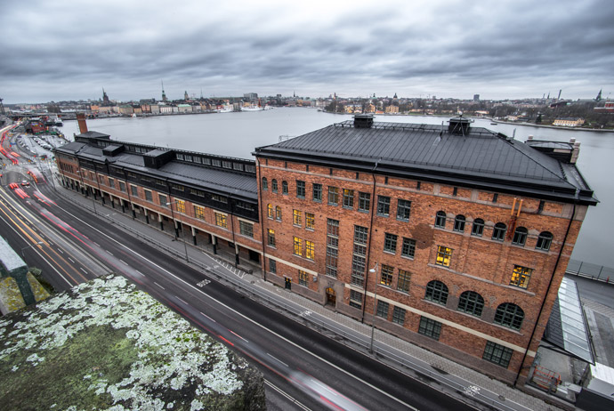 Fotografiska has great views over Stockholm