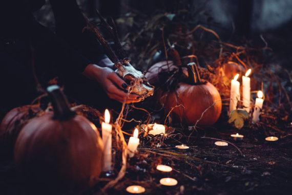 Halloween celebrations at Skansen in Stockholm