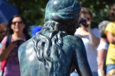 Come early to avoid the crowds at Copenhagen's Little Mermaid