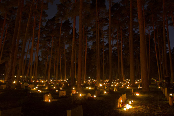 This graveyard in Stockholm is worth visiting on Halloween