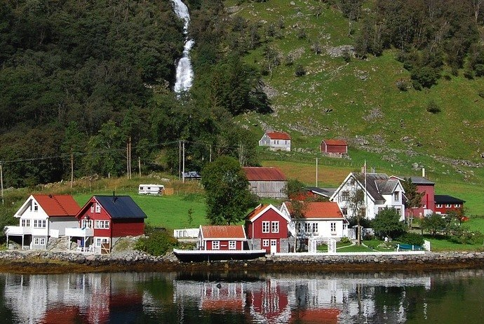 village on the fjords