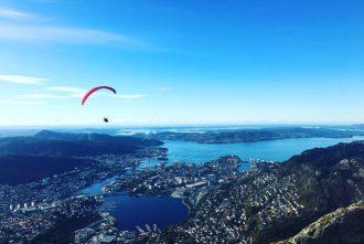 Bergen is a beautiful city in Norway, Scandinavia