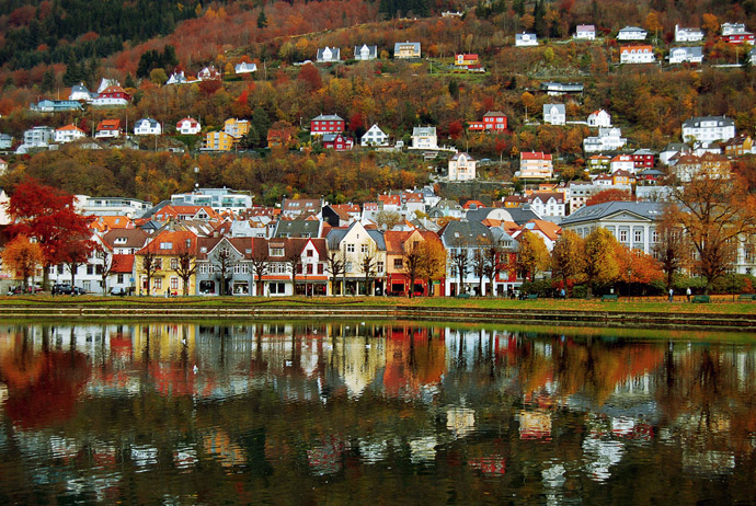 Bergen is one of the best coastal towns in Scandinavia