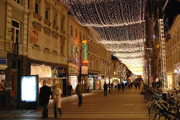 Aarhus is a good place to celebrate Christmas in Denmark