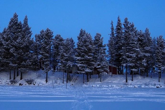 winter in Kiruna