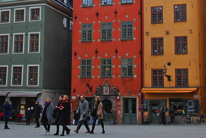 Gmal Stan, Stockholm's old town