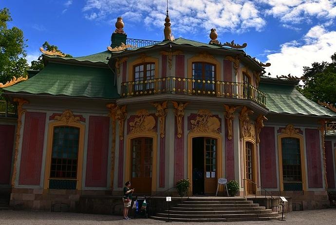 Chinese Pavilion at Drottningholm