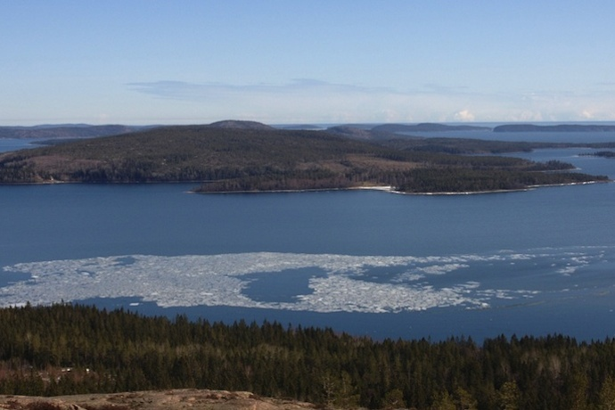 The Höga Kusten is dramatic section of coast along the road from Stockholm to Kiruna