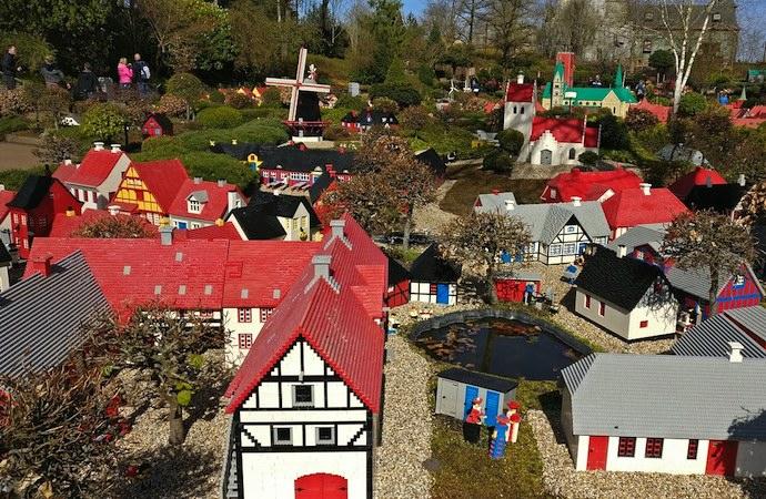 Lego village, Legoland, Denmark