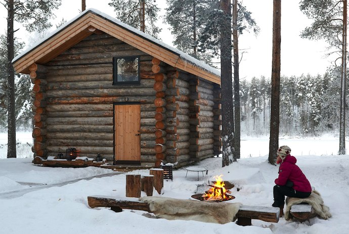 Arctic Retreat is a great Arctic spa in Swedish Lapand
