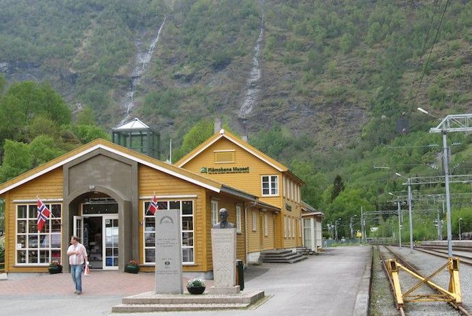 Flåmsbana train station, Norway