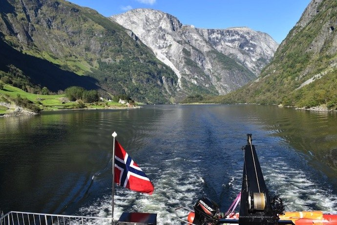 Fjord cruise, Norway in a Nutshell tour