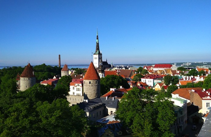 Tallinn is a just a short ferry ride from Helsinki