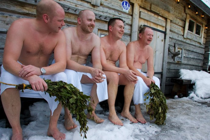 Finland is a great place for saunas and lake swims