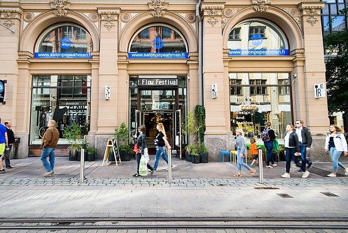 Distinctive Finnish shopping at TRE, Helsinki