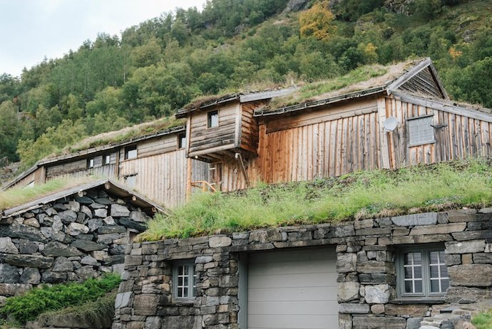 You can stay at this cosy barn in Røldal, Norway