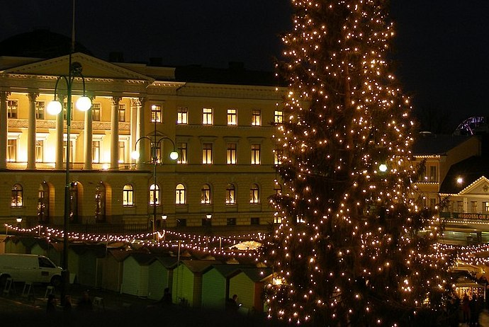 Christmas is a great time to visit Helsinki