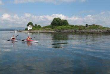 Explore the Oslofjord by kayak