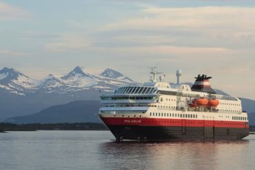 MS Polarys on the Hurtigruten