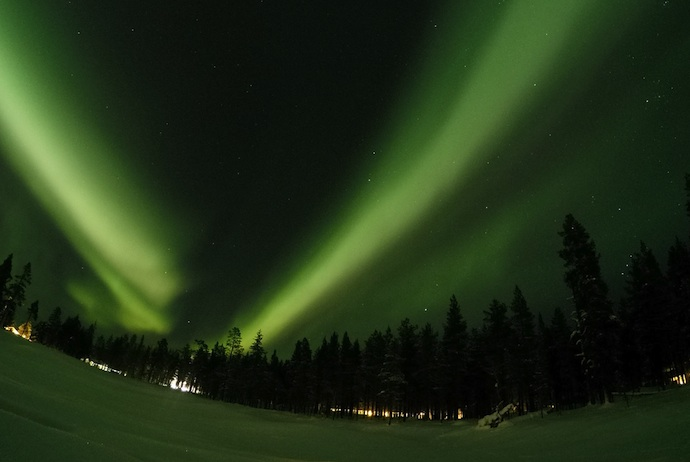 See the northern lights in late spring