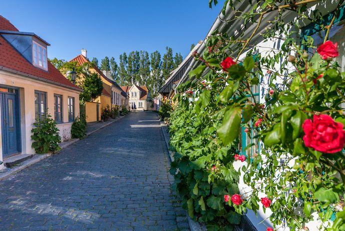 Ærøskøbing village in Denmark