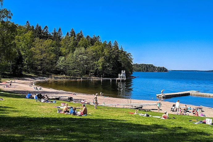 Go for a summer swim at one of Stockholm's many beaches