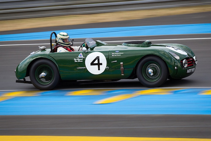 classic car racing at the Copenhagen Historic Grand Prix