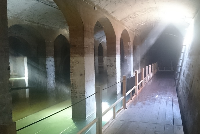 This underground Cistern in Copenhagen is one of Copenhagen's most unusual places to visit