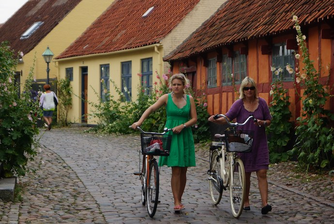 Ebeltoft, one of the best Danish small towns