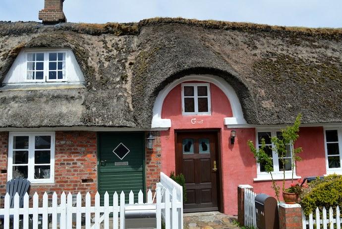 Sønderho thatched cottage, Denmark
