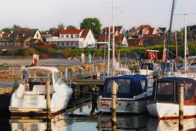 Gilleleje harbour, Denmark