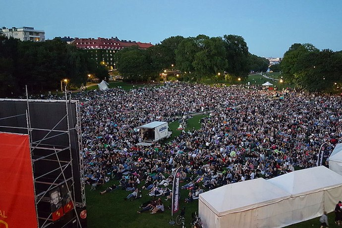 Stockholm summer open-air film festival