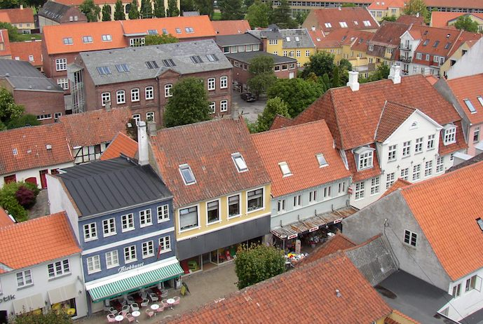 Faaborg is one of the most beautiful places to visit in Denmark