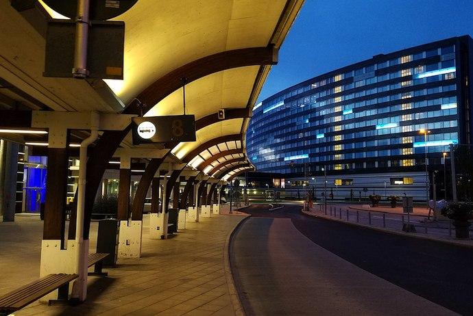 Stockholm Cityterminalen bus station