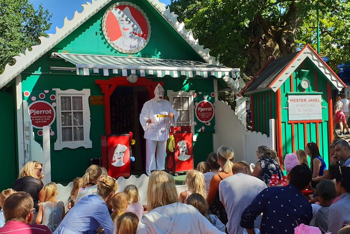 Bakken is one of Copenhagen's best attractions for kids