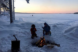 Ice Fishing Experience in Rovaniemi