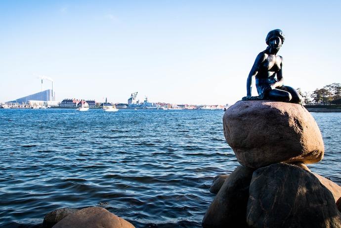 Littel Mermaid, Copenhagen, Denmark