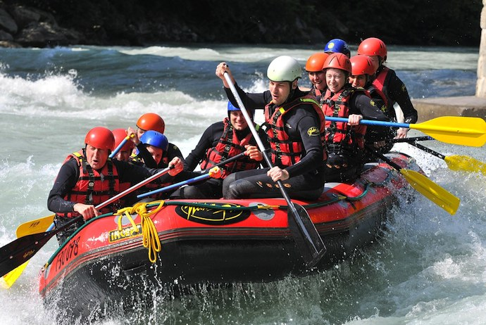 White river rafting in Norway