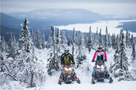 Snowmobile Safari Adventure in Rovaniemi