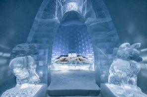 Art suite, Icehotel