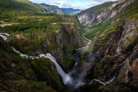 Vøringsfossen waterfall, Norway