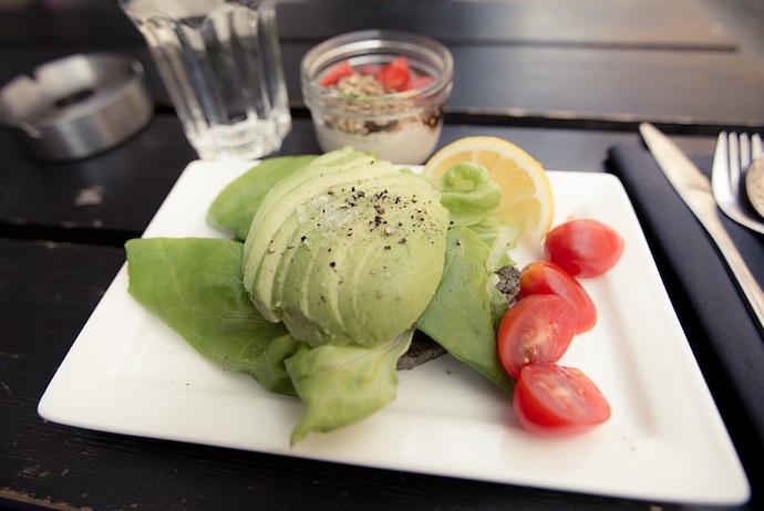 vegan and veggie food is easy to find in Copenhagen