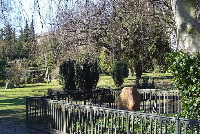Kirkegaard's grave, Assitens Cemetary, Copenhagen