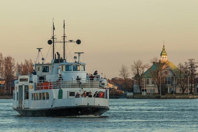 Suomenlinna ferry, Helsinki